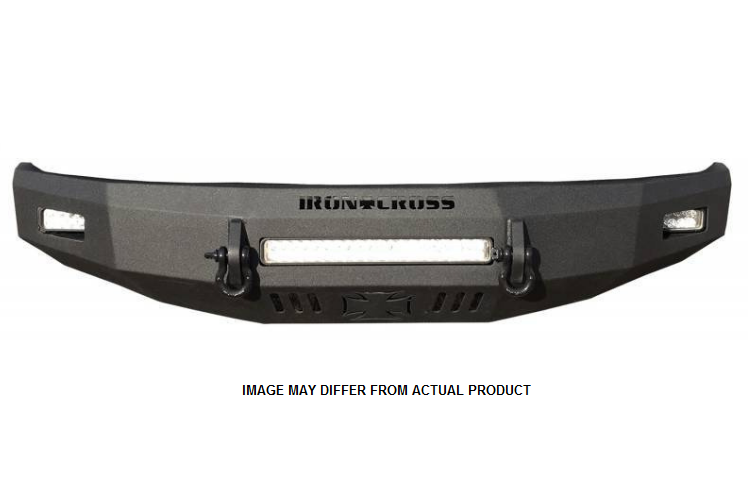 Iron Cross 40-415-09-MB Ford F150 2009-2014 Low Profile Front Bumper Matte  Black