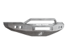Road Armor 407R4Z-NW 2006-2008 Dodge Ram 1500 Front Bumper, Raw, Pre-Runner Style, Stealth Series, Square Fog Light Hole, Non-Winch