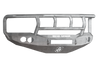 Road Armor 44072Z-NW 2006-2008 Dodge Ram 1500 Front Bumper, Raw, Titan II Guard, Stealth Series, Round Fog Light Hole, Non-Winch