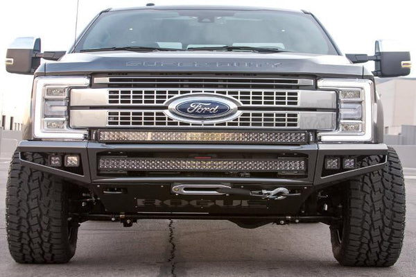 Rogue Racing Enforcer Ford F250/F350 Superduty Front Bumper 2017-2018 442517-91-ENF-NW-DS