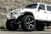 Offroad Jeep Gladiator JT 2020 Front Bumper Full Width with Bullbar Winch Ready FBSHTB-01