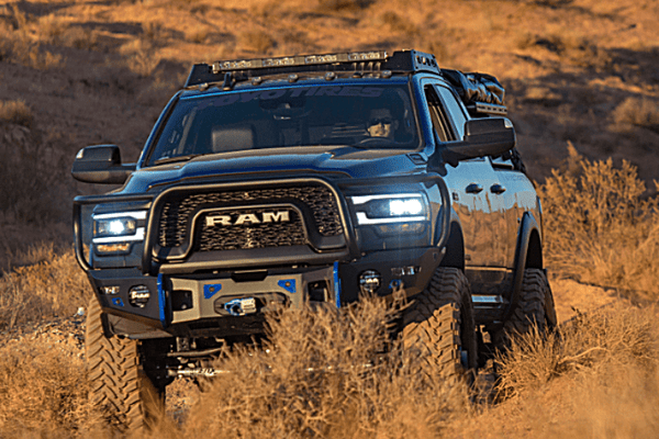 Expedition One Range Max Ultra HD Dodge Ram 2500/3500 2019-2021 Front Bumper Winch Ready RAM2500/3500-19+FB-BB-PC