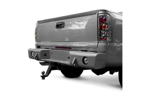 TrailReady 55500 Chevy Avalanche 1500/2500 1999-2010 Extreme Duty Rear Bumper - BumperOnly