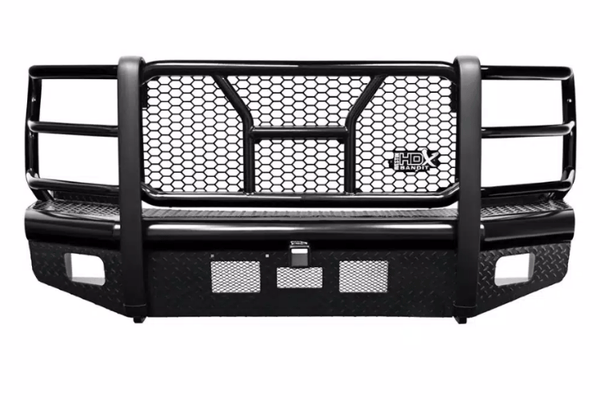 Westin 58-31115 Ford F-250/F-350 Superduty 2011-2016 HDX Bandit Front Bumper Non-Winch Black Finish
