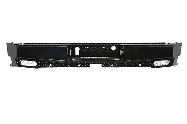Westin 58-341155 GMC Sierra 1500 2014-2018 HDX Bandit Rear Bumper Black Finish