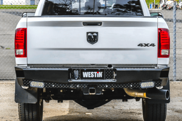 Westin 58-341175 Dodge Ram 1500 2019-2021 HDX Bandit Rear Bumper Black Finish