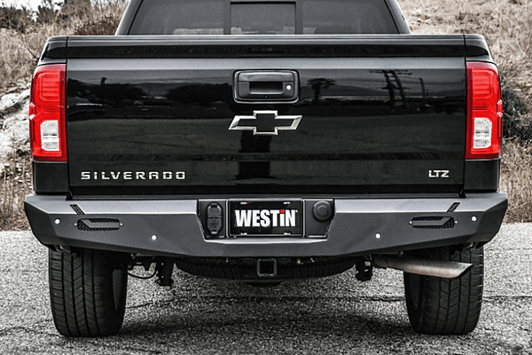 Westin 58-421005 GMC Sierra 2500/3500 2015-2019 Pro-Series Rear Bumper Black Finish