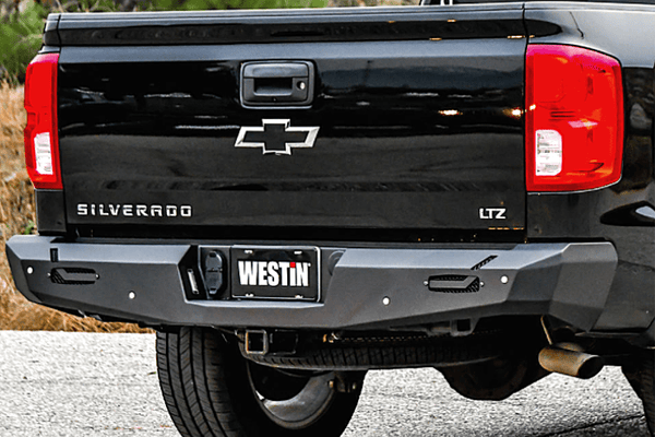 Westin 58-421005 GMC Sierra 1500 2014-2018 Pro-Series Rear Bumper Black Finish