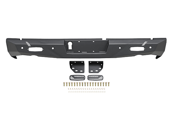 Westin 58-421025 Dodge Ram 2500/3500 2010-2021 Pro-Series Rear Bumper Black Finish
