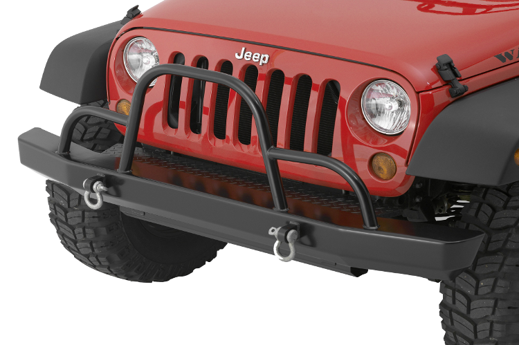 Warrior 59051 Rock Crawler Jeep Wrangler JK Front Bumper 2007 2018