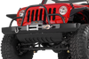 Warrior 59056 Rock Crawler Jeep Wrangler JK Front Bumper 2007-2018