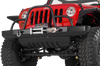 Warrior 595 Jeep Wrangler JK 2007-2019 Rock Crawler Front Bumper Winch Ready