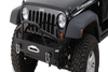 Warrior 59750 Rock Crawler Jeep Wrangler JK Front Bumper 2007-2018