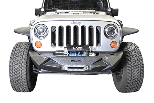 DV8 Offroad Jeep Gladiator JT 2020 Front Bumper Mid-Width with Light Bar Mount Winch Ready FBSHTB-24