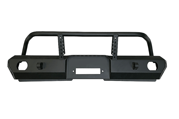 Warrior 6578 Jeep Wrangler JK 2007-2018 MOD Series Front Bumper Mid-Width With Brush Guard