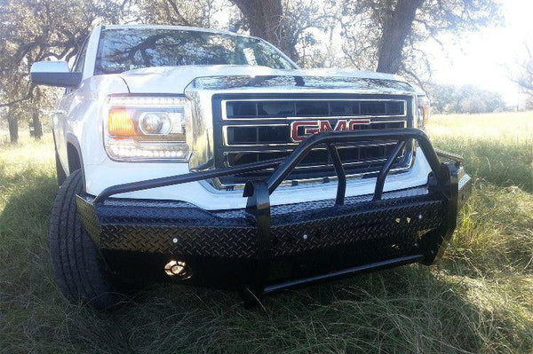 Frontier 600-31-4009 Xtreme GMC Sierra 1500 2014 - 2015 Front Bumper - BumperOnly