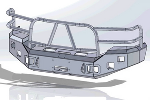 Ford Excursion Front Bumper Replacement | BumperOnly com