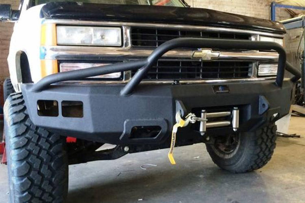 Hammerhead 600 56 0127t Front Winch Bumper Chevy Tahoe And