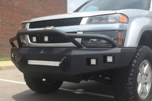 Bad-Ass Chevy Colorado Front Bumpers On Sale | BumperOnly com