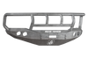 Road Armor 66002Z 1999-2004 Ford F250/F350/F450 Superduty, Ford Excursion Front Bumper, Raw, Titan II Guard, Stealth Series, Round Fog Light Hole, Winch-Ready