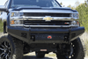 Fab Fours CH20-S4961-1 Chevy Silverado 2500/3500 2020 Black Steel Front Bumper No Guard Sensor