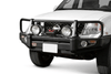 ARB 3438290 Nissan Pathfinder 2009-2012 Deluxe Front Bumper Winch Ready with Grille Guard, Black Powder Coat Finish