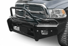 Ranch Hand BTD101BLRS 2010-2018 Dodge 2500/3500 Legend BullNose Series Front Bumper with Sensors