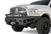 ADD F517355000103 Honeybadger 2010-2019 Dodge Ram 2500/3500 Front Bumper with Winch Mount