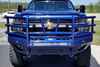Bodyguard EEC20BYFRG Chevy Silverado 2500/3500 2020 T2 Extreme Front Bumper With Sensor Factory Fog Cutouts Gloss Black Powder Coat