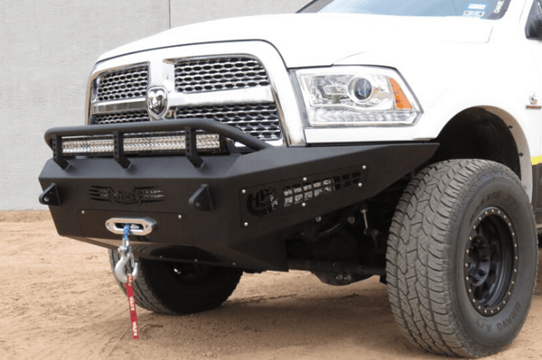 ADD F517355000103 Honeybadger 2010-2018 Dodge Ram 2500/3500 Front Bumper with Winch Mount