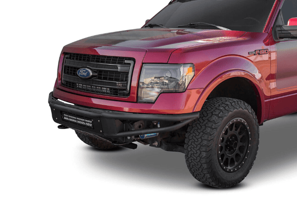 ADD F101981250103 2011-2014 Ford Eco-boost F150 Venom Front Bumper with Light Mounts