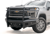 Fab Fours CH20-Q4960-1 Chevy Silverado 2500/3500 2020 Black Steel Elite Front Bumper Full Guard Sensor