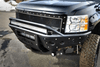 ADD F312972680103 Chevy Silverado 2500/3500 HD 2007-2010 Stealth Front Bumper with Light Mounts