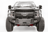 Fab Fours FS17-A4150-1 Ford F250/F350 Superduty 2017-2019 Premium Front Bumper Winch Ready with Full Guard
