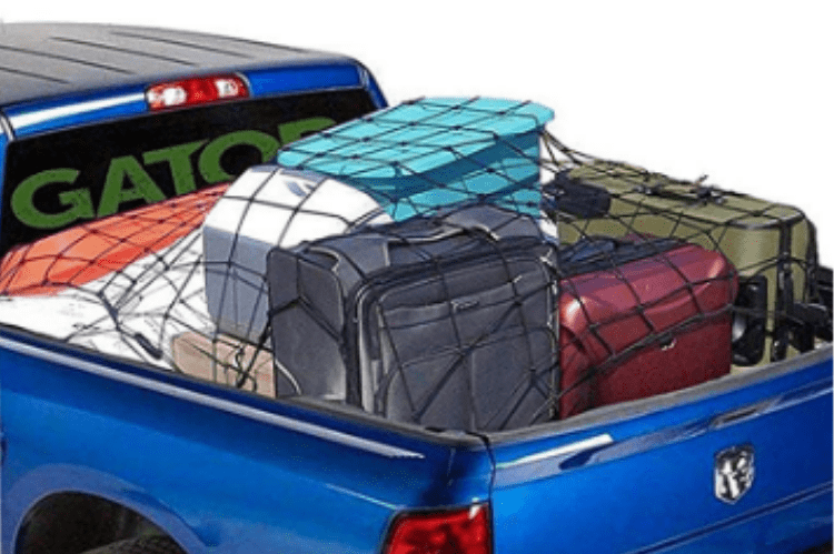 Cargo Net Bungee Cord Large Netting Accessories With Hooks for Pickup Truck Bed