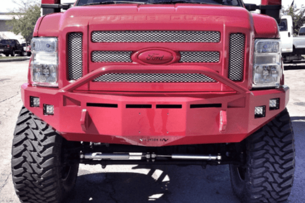 Fusion FBFORD0810FB Ford F250/F350 Superduty 2008-2010 Front Bumper Raw Finish