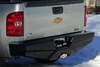 Frontier 100-21-5012 Diamond Chevy Silverado 2500/3500 HD 2015-2017 Rear Bumper