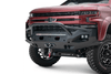Fab Fours CS19-X4052-1 Chevy Silverado 1500 2019-2021 Matrix Front Bumper Winch Ready Pre-Runner Guard