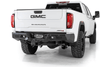 ADD R270031280103 Chevy Silverado 2500 2020-2021 Bomber HD Rear Bumper with Sensor Cutouts
