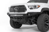 Addictive Desert Designs F681202200103 Toyota Tacoma 2016-2021 Stealth Fighter Front Bumper Winch Ready