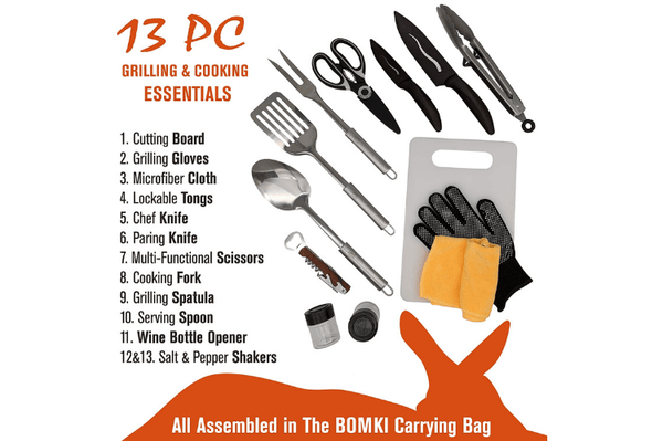 High Quality Camping/BBQ Set (Not for Sale)