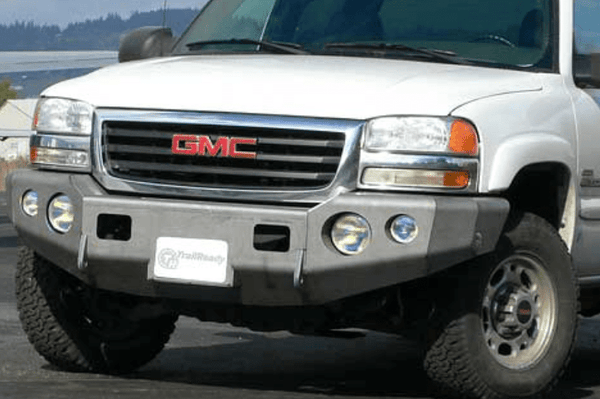 TrailReady 10401B Chevy Avalanche 1500 2003-2007.5 Extreme Duty Front Bumper Winch Ready Base