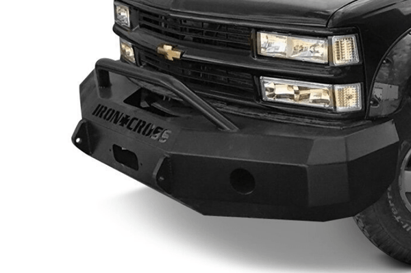 Iron Cross 1988-1998 Chevy Silverado 1500/2500/3500 Front Bumper 22-515-88 Winch Ready Push Bar