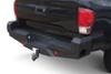 Steelcraft Elevation HD Rear Bumper Toyota Tacoma 2016-2021 65-23420 Does Not Accommodate Blind Spot Sensor