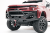 Fab Fours CH15-X2752-1 Chevy Silverado 2500/3500 2015-2019 Matrix Front Bumper Winch Ready Pre-Runner Guard