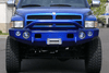 TrailReady PN11400P Dodge Ram 1500 2002 Extreme Duty Front Bumper Winch Ready with Pre-Runner Guard