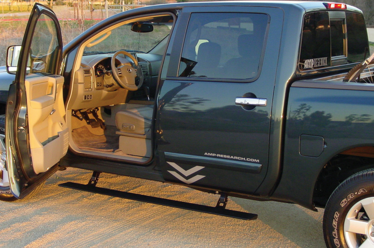 AMP Research PowerStep™ Nissan Titan Running Board 2004 2015 75110 01A