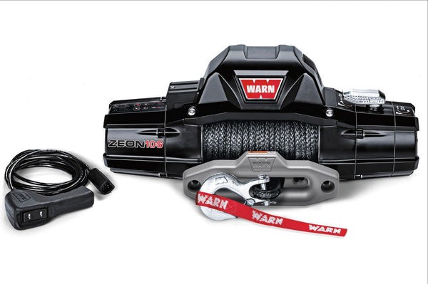WARN Jeep, Truck & SUV Winches: ZEON 10 88990 - BumperOnly