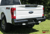 American Built 3RF23172 Ford F250/F350 Superduty 2017-2019 Panther Rear Bumper with Back-up Sensors