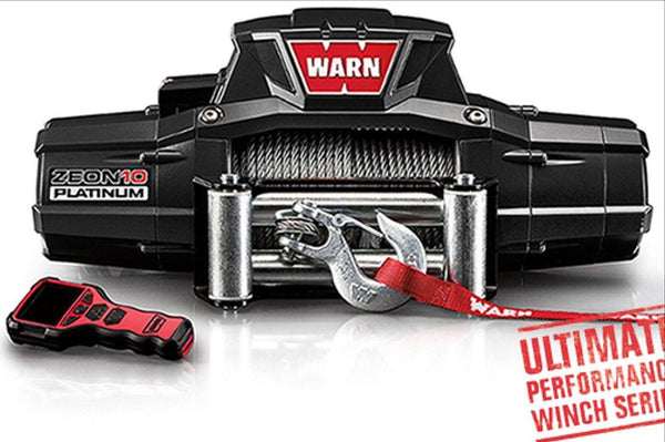 WARN Jeep, Truck & SUV Winches: ZEON 10 Platinum 92810 - BumperOnly